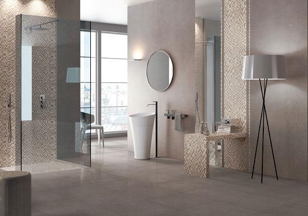 Effetto Legno Interior Design: Rivestimento pareti bagno in legno ...